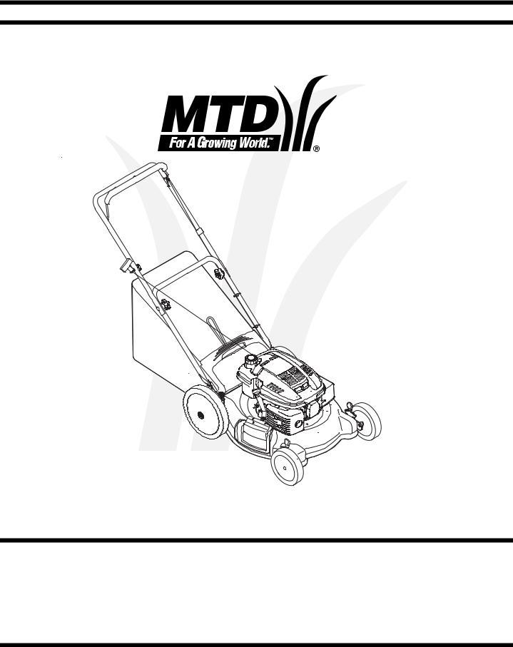 MTD Series 54M User Manual
