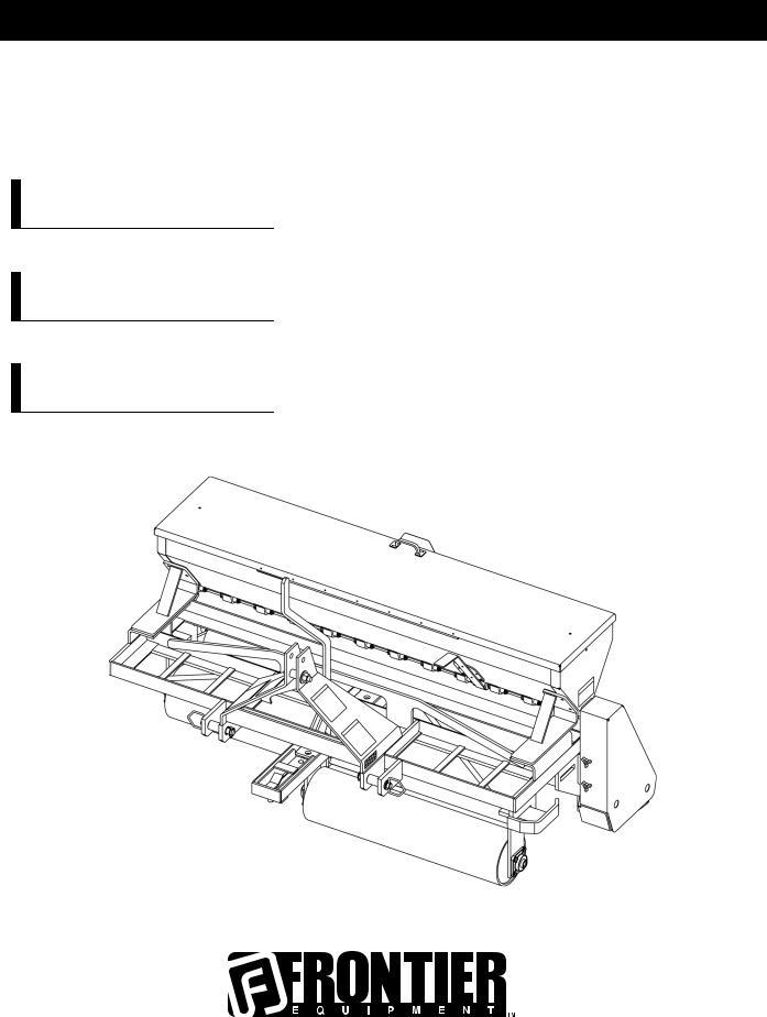 John Deere TR1060, TR1072, TR1048 User Manual