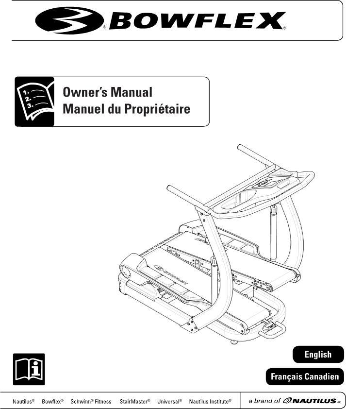 Bowflex TREADCLIMBER TC5500 User Manual