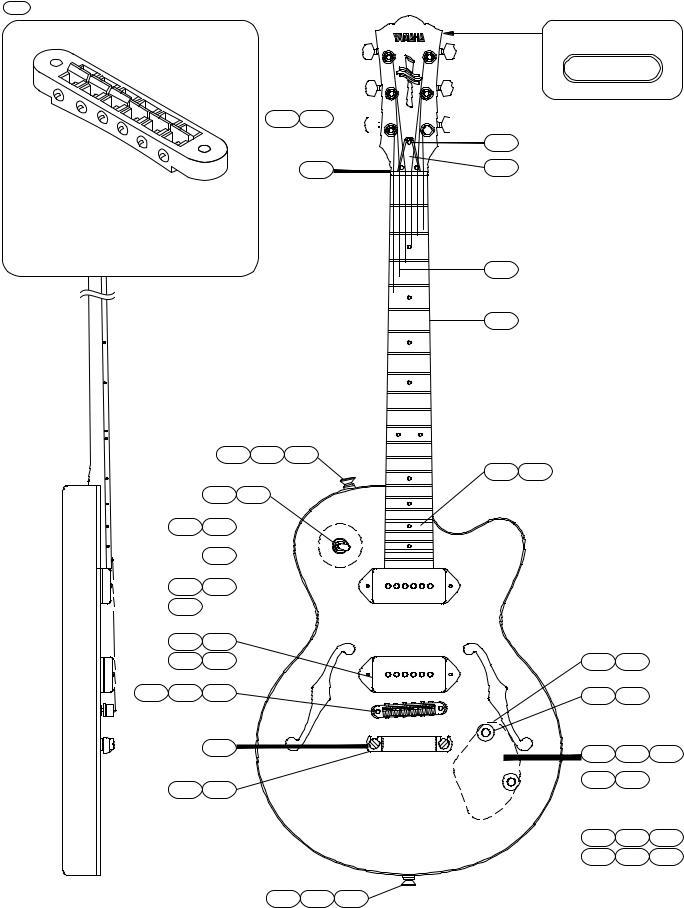 Yamaha Yamaha Guitar AEX502 User Manual