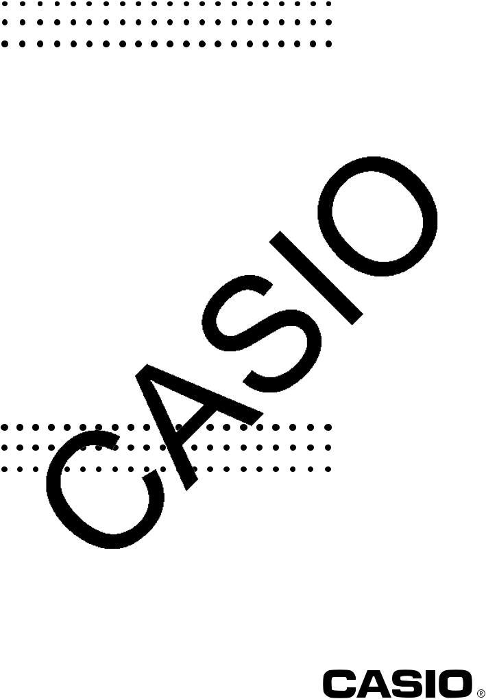 Casio FX-9860GII, FX-9750G, FX-9750GII, fx-7400GII User Manual