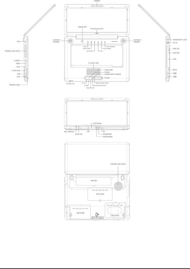 Toshiba Satellite A350 Service Manual
