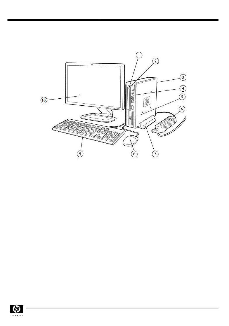 HP Elite 8000 User Manual