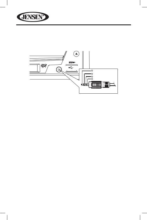 Jensen VM9215BT User Manual