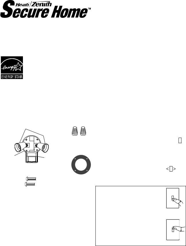Heath Zenith SH-5411, Motion Sensor Light Control SH-5411