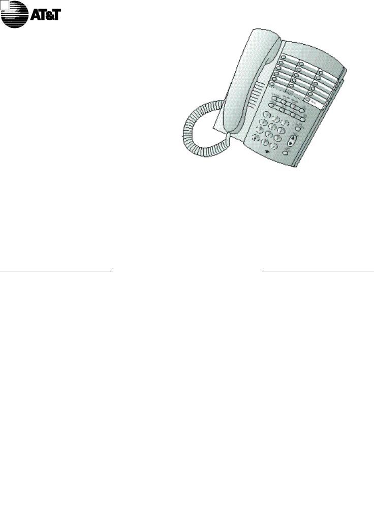 AT&T 922 User Manual