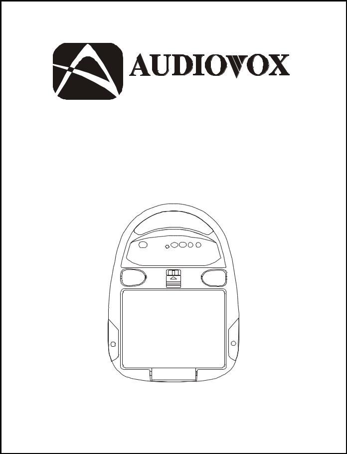 Audiovox VOH560PKG User Manual