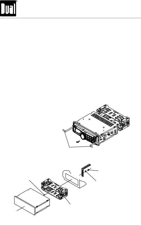 Dual XD-1222 User Manual
