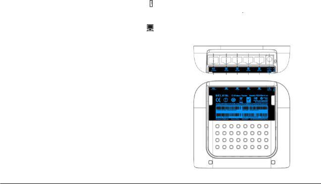 Belkin F5D7234-4-H, Wireless Router F5D7234-4-H User Manual
