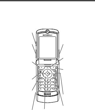 Motorola razr v3 User Manual
