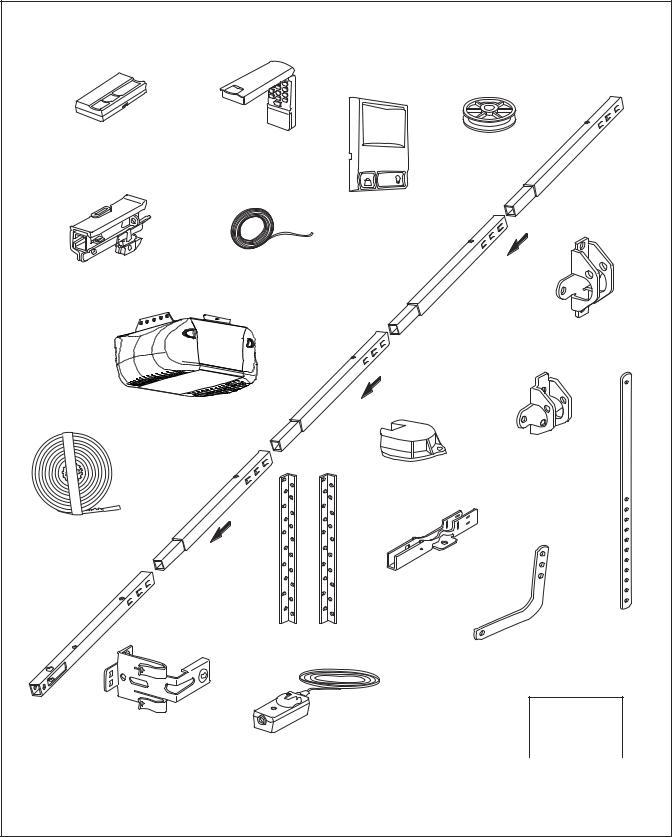Chamberlain WD822KS 1-2 HP, WD822KLS 1-2 User Manual