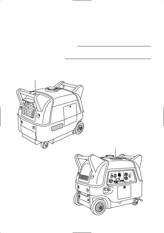 Yamaha EF3000iSE, EF3000iSEB User Manual