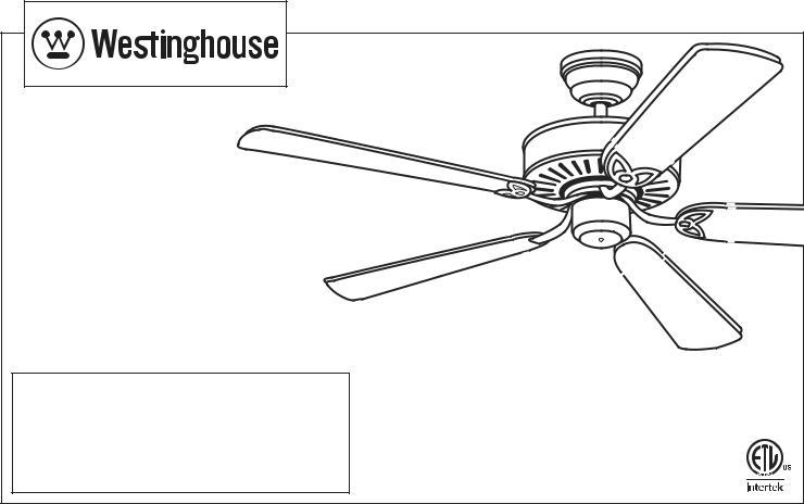 Westinghouse ETL-ES-Contractors-R-Wh14 User Manual