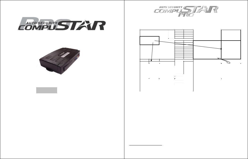 CompuSTAR CM4200DX User Manual
