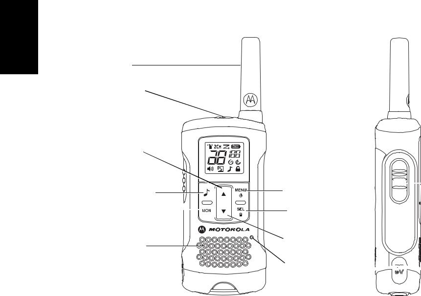 Motorola T60, TLKR T60 User Manual