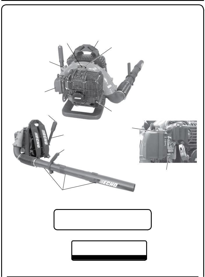 Echo PB-500T, PB-500H User Manual