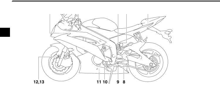 Yamaha YZF-R6 (2012) User Manual