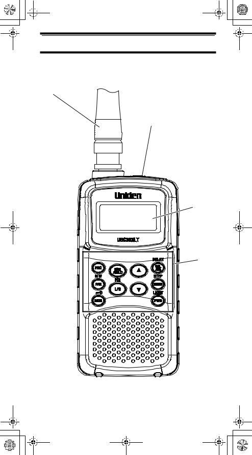 Uniden UBC30XLT User Manual