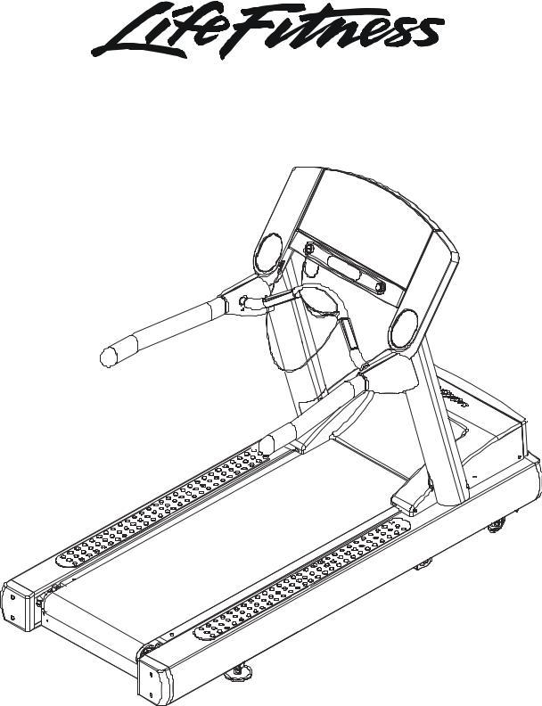 Life Fitness 93Ti User Manual
