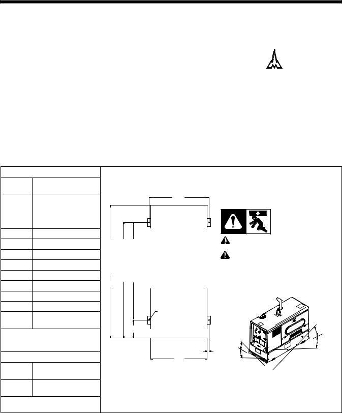 Miller Electric 500D, 600 X User Manual