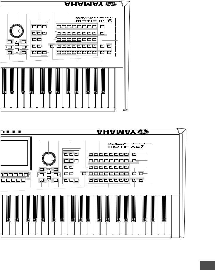 Yamaha MOTIF XS8, MOTIF XS7, MOTIF XS6, MOTIF XS7 EN User
