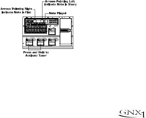 DigiTech GNX1 User Manual