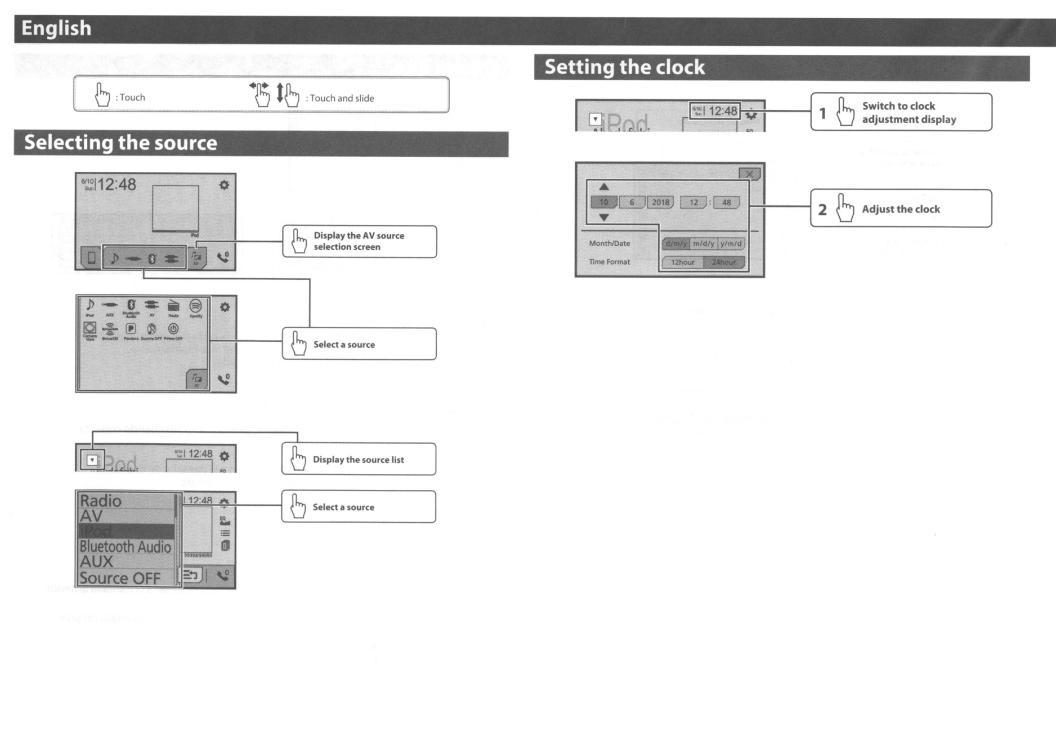 Pioneer AVH-3400NEX User Manual