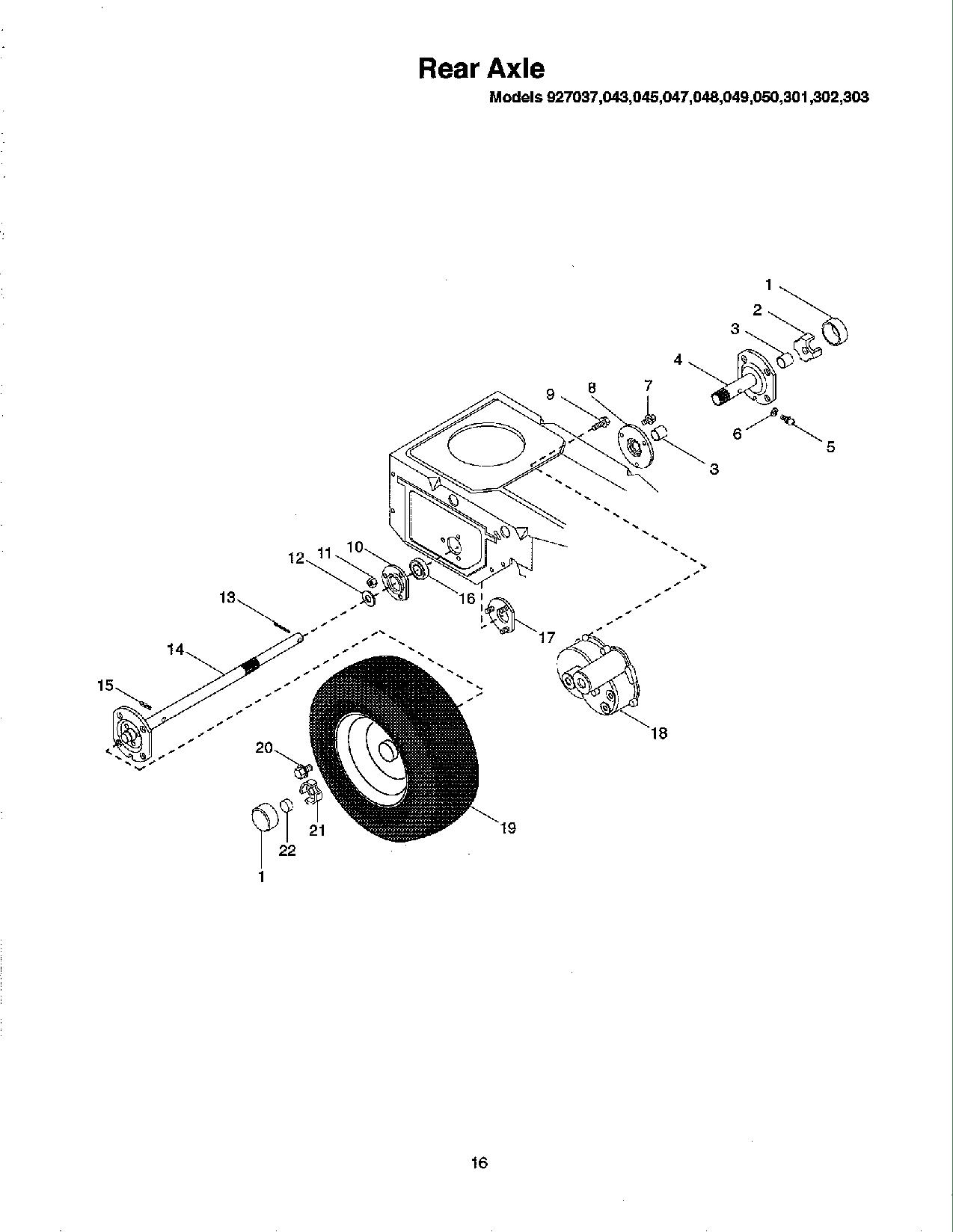 Ariens 927 User Manual