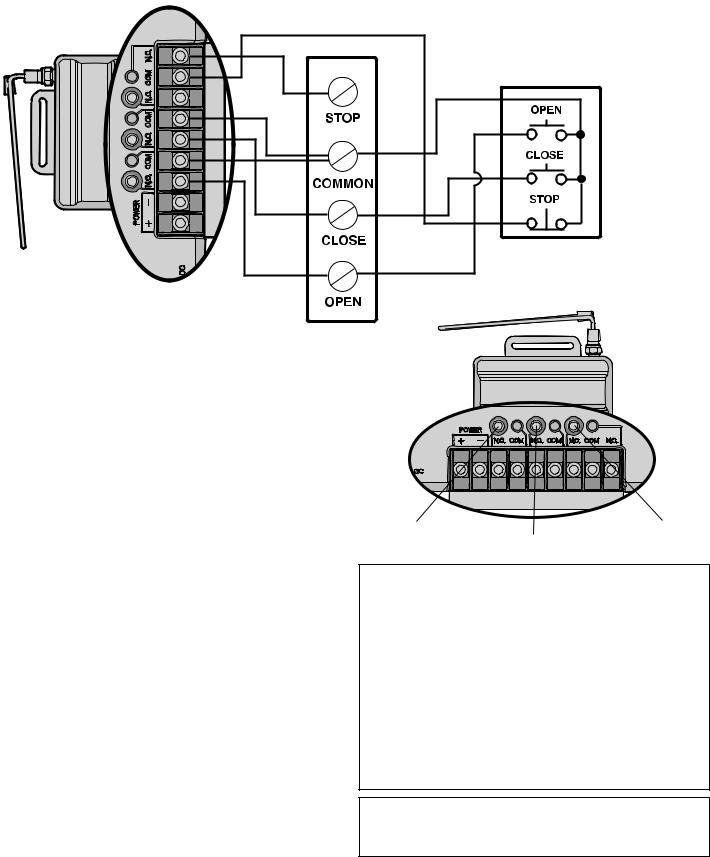 Liftmaster 850LM, 850MC User Manual