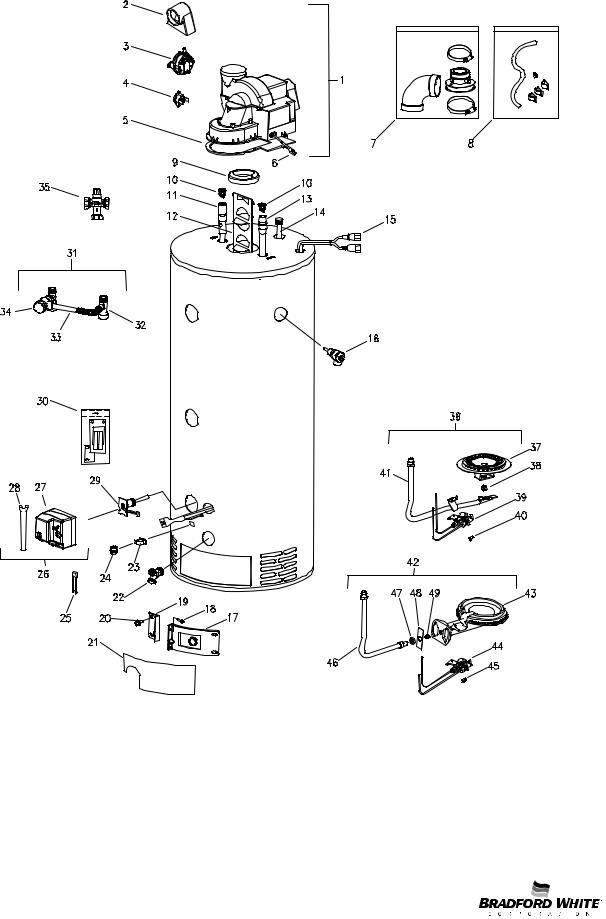 Bradford-White CDW2TW Series, CDW2TW User Manual