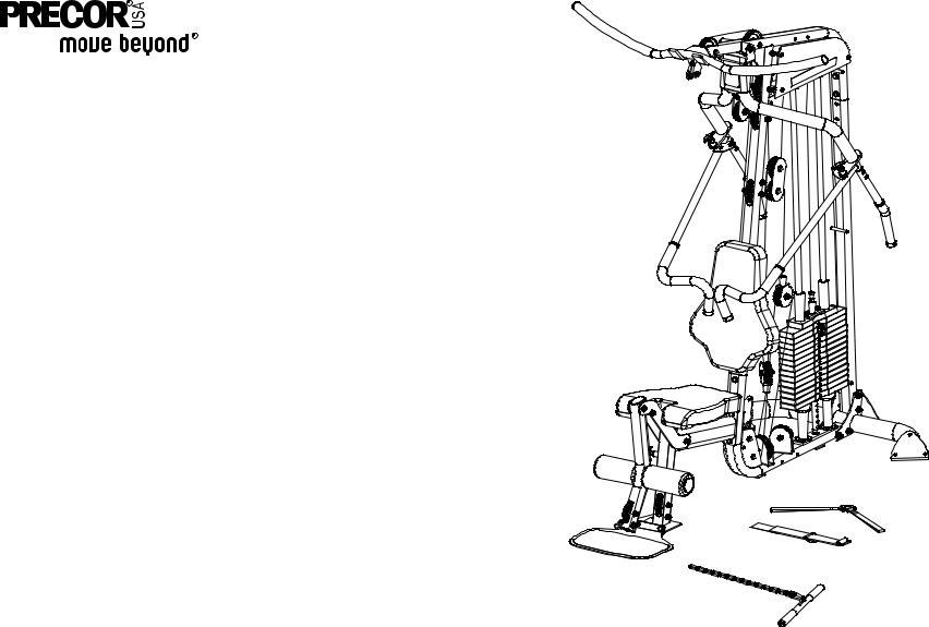 Precor Leg Press Option S3.15, S3.15 User Manual