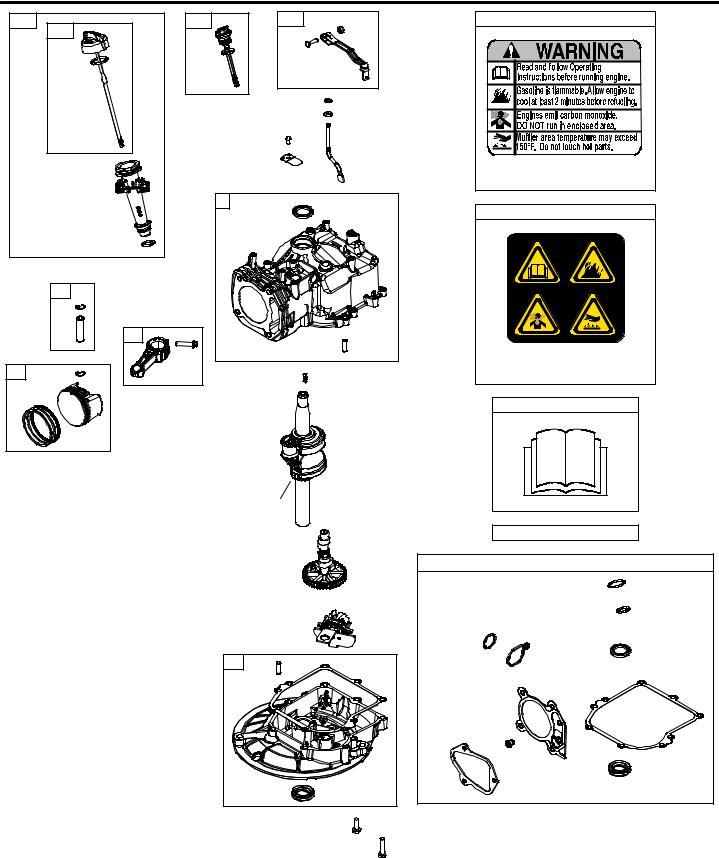 Briggs & Stratton 09P700 User Manual