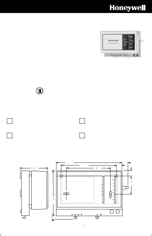 Honeywell CT70A User Manual