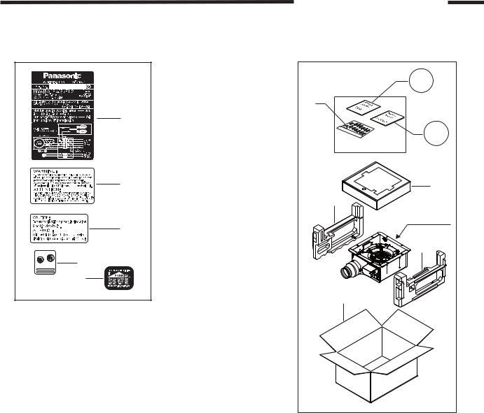 Panasonic FV-05VFL2, FV-08VFL2, FV-11VFL2 service manual