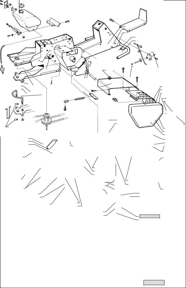 Husqvarna RIDER 16 H User Manual