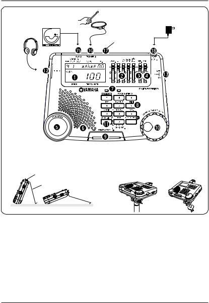 Yamaha CLICKSTATION User Manual