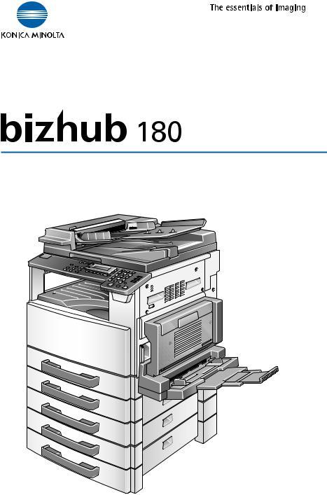 Konica Minolta bizhub 180 User Manual