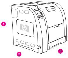 HP Color LaserJet 3500, 3550, 3700 Series, LaserJet 3500