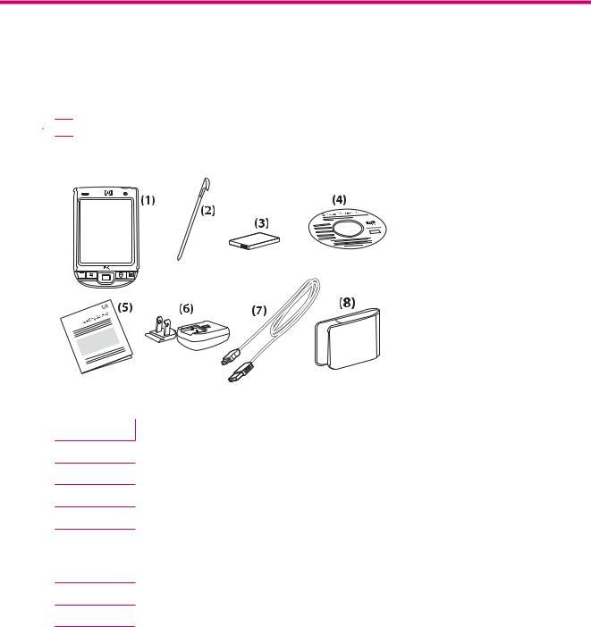 HP iPAQ 100 Classic Series, iPAQ 110 Classic Handheld