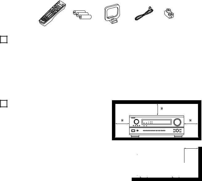 Denon AVR 3802 User Manual