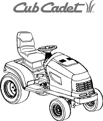 Cub Cadet GT-3235 User Manual