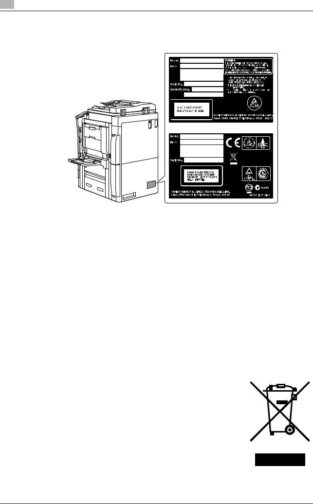 Konica Minolta bizhub C654 User Manual