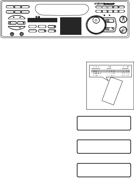 Uniden BC9000XLT User Manual