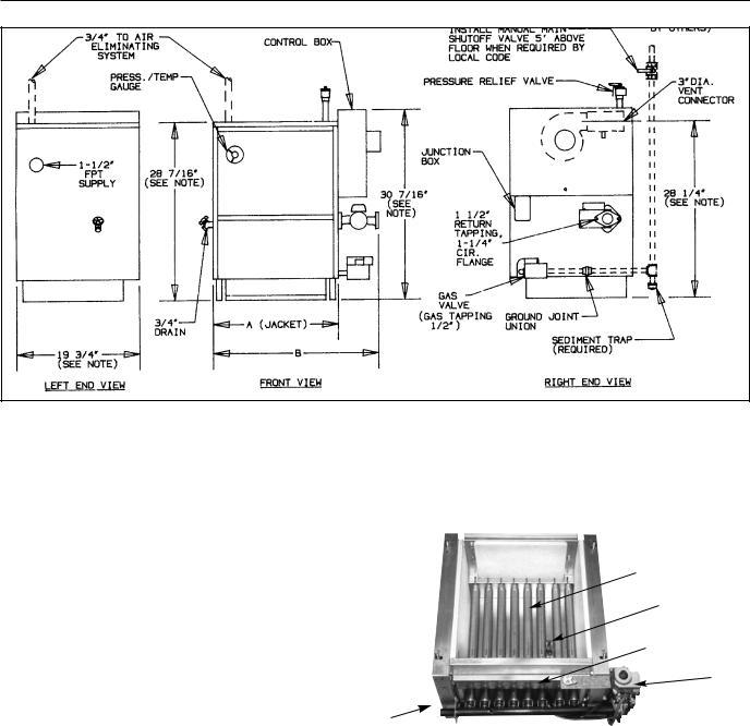 Slant-Fin VHS-180, VHS-30 User Manual