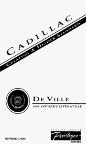 1995 Cadillac DeVille Manuals