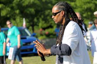 Tai Chi demonstration is performed, one of many events around the Great Lawn