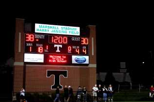 Manual loses it's undefeated streak losing to Trinity 38-30. Manual now has a 6-1 record.