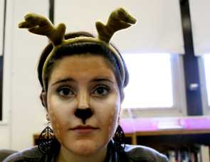 "Emma Sartin (10, HSU): BAMBI ""I didn't want to be a princess. I'm a princess every day."""