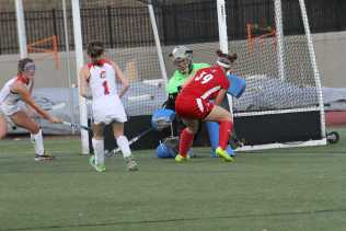 Biggs (39, 12) with the shot of the game winning goal. Photo by: Mr. Bowman.