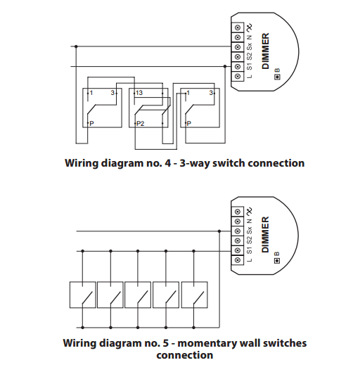 Momentary Switch Diagram